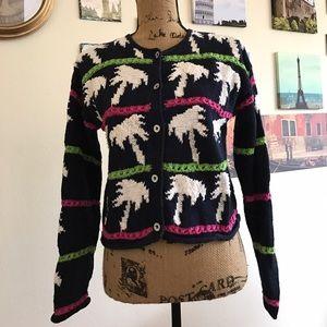 Sigrid Olsen hand knit sweater! Sz. S